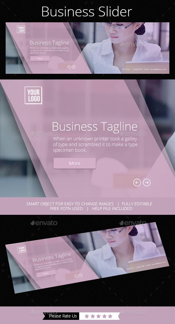 GraphicRiver Business Slider 11817038