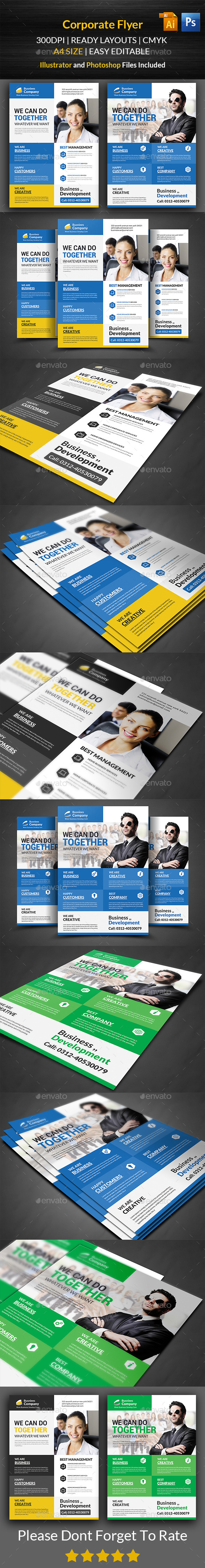 GraphicRiver Corporate Flyer Template 11817520