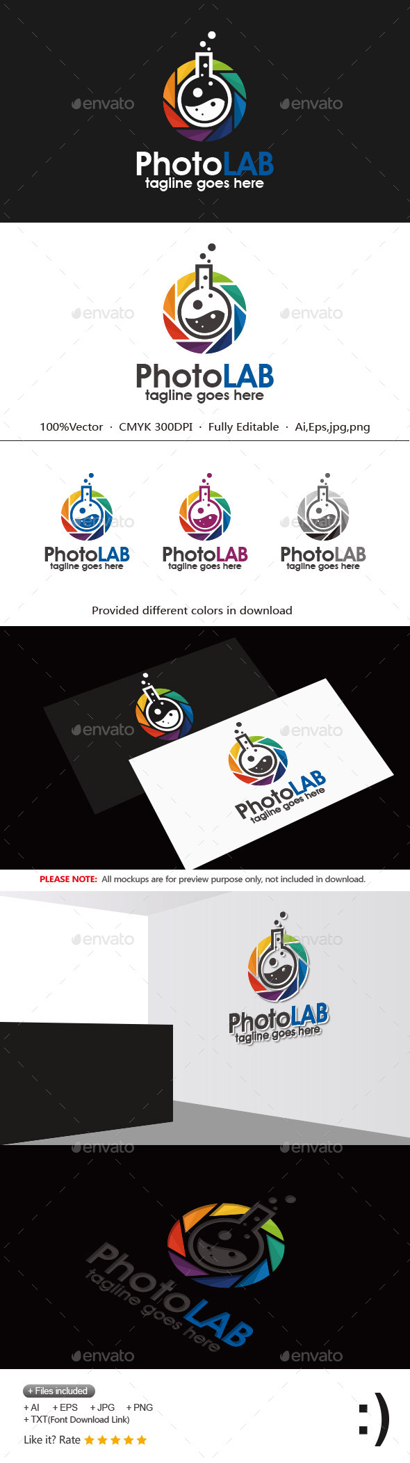 GraphicRiver Photo Lab 11817585