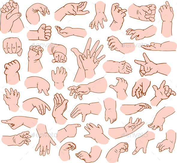 GraphicRiver Baby Hands Pack 11817798