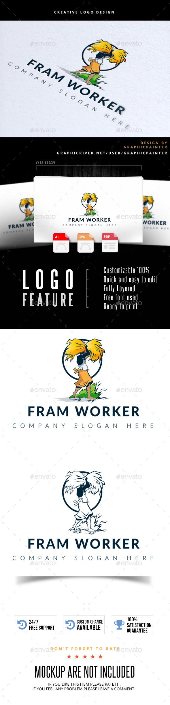 GraphicRiver Fram Worker 11817868