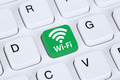 Wi-Fi or WiFi hotspot connection internet computer