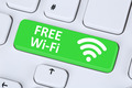 Free Wi-Fi or WiFi hotspot connection internet computer