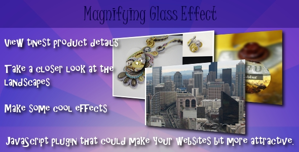 CodeCanyon Magnifying Glass Effect 141589