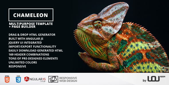 Chameleon – Multipurpose Template and Page Builder (Corporate) Download