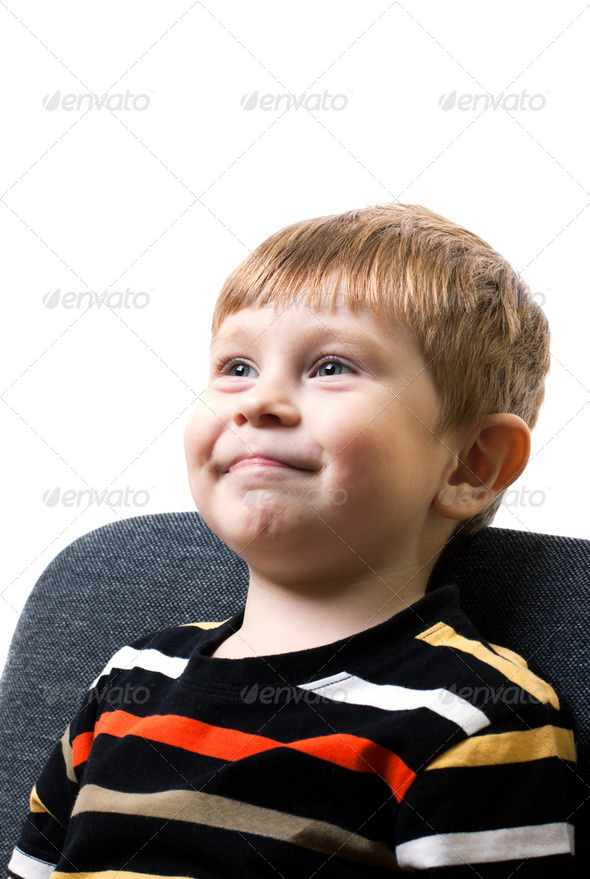 Portrait of the boy - Stock Photo - Images