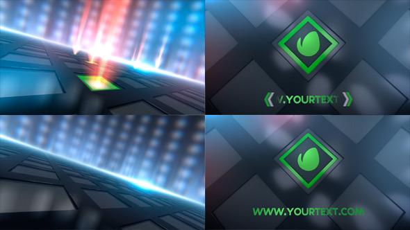 Shiny Logo Reveal