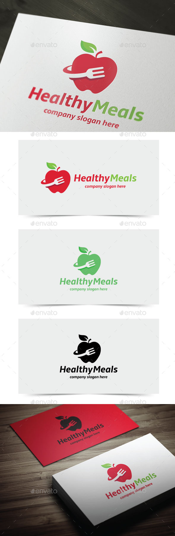 GraphicRiver Healthy Meals 11819247
