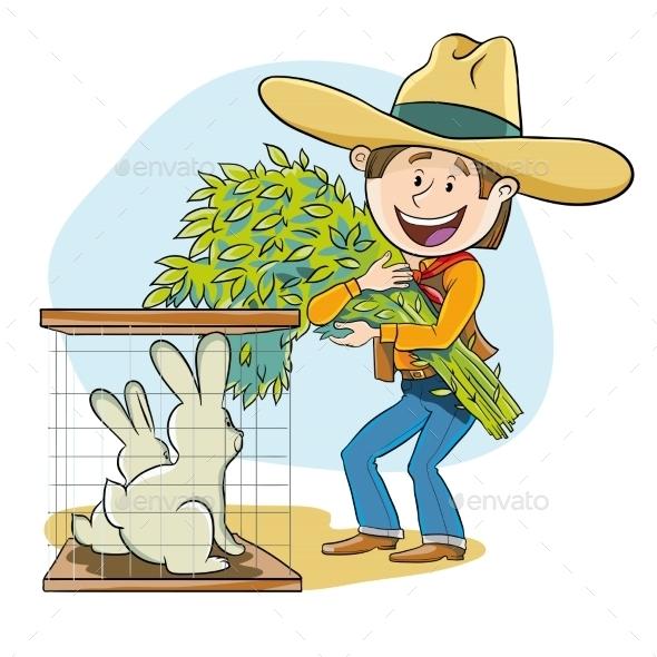 GraphicRiver Feeding The Rabbits 11819249