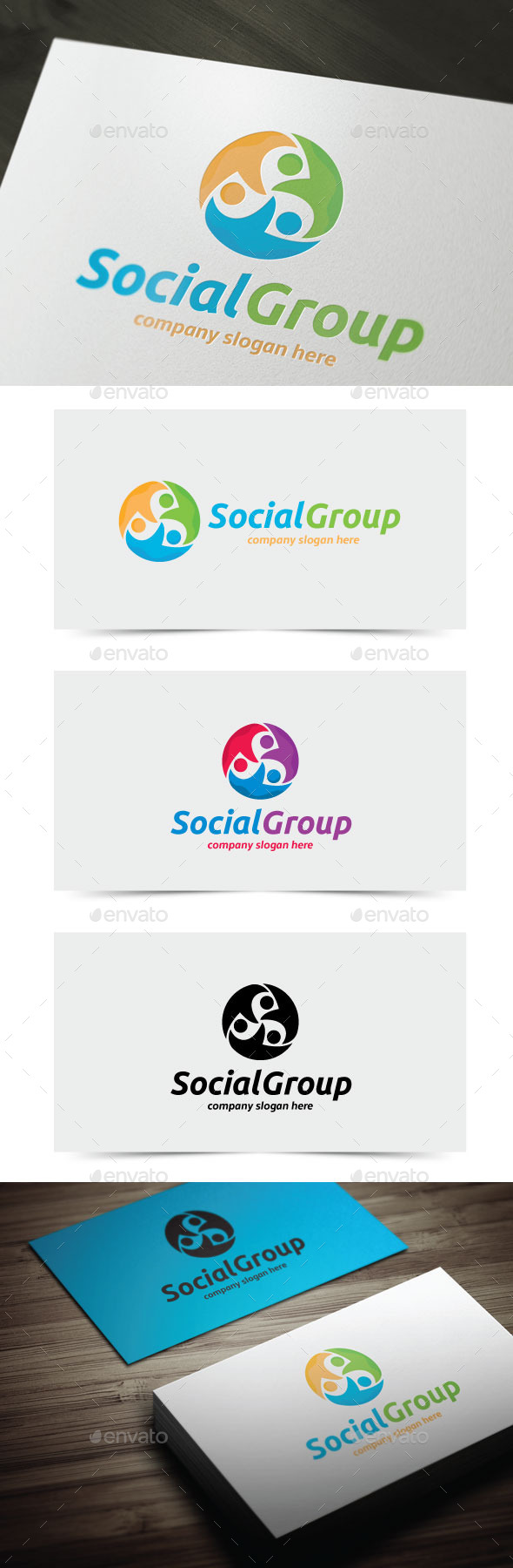 GraphicRiver Social Group 11819355