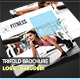 Fitness Square Trifold Brochure - GraphicRiver Item for Sale