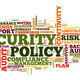 Security policy in word tag cloud - PhotoDune Item for Sale