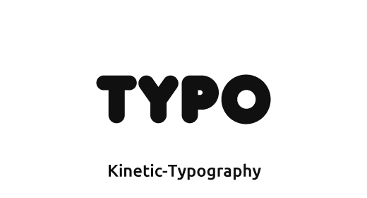 Kinetic Typography Projects