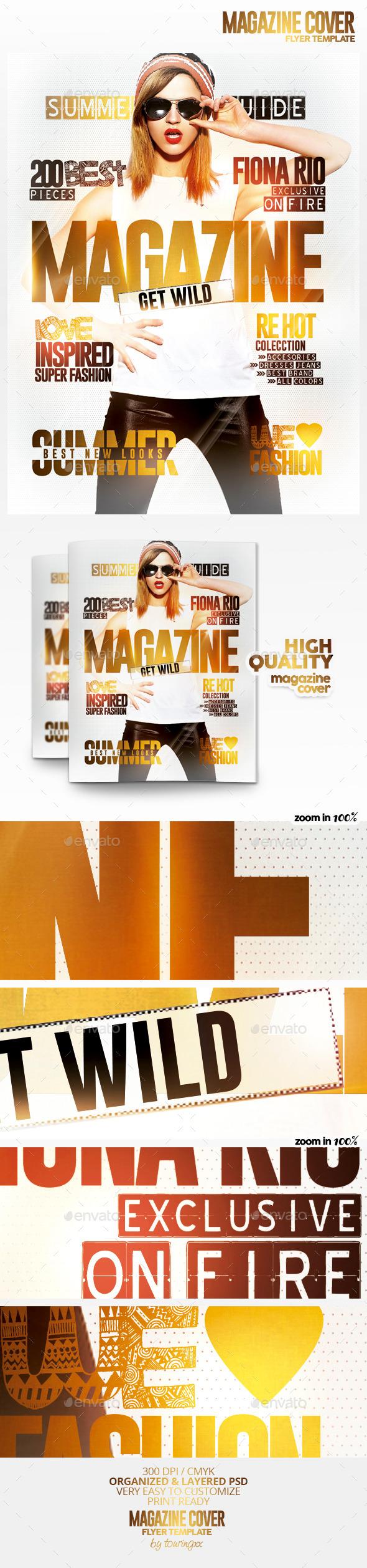 Fashion Magazine Cover Lightroom