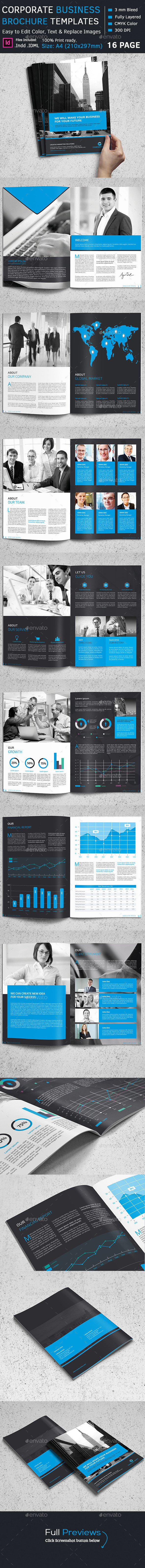 GraphicRiver Corporate Brochure 11820287
