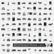 Set Of Transport Stickers - GraphicRiver Item for Sale