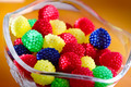 Tasty, chewy, sweet bonbon in glass cup - PhotoDune Item for Sale