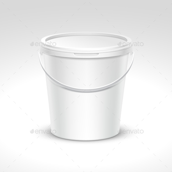 GraphicRiver Plastic Bucket Container Packaging 11820675