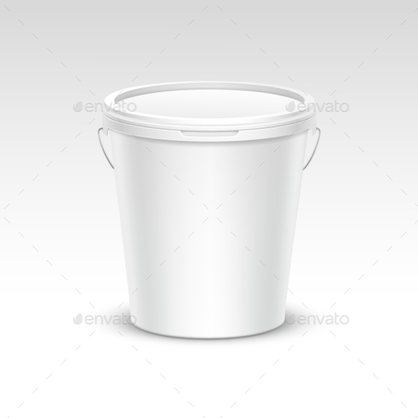 GraphicRiver Plastic Bucket Container Packaging 11820676