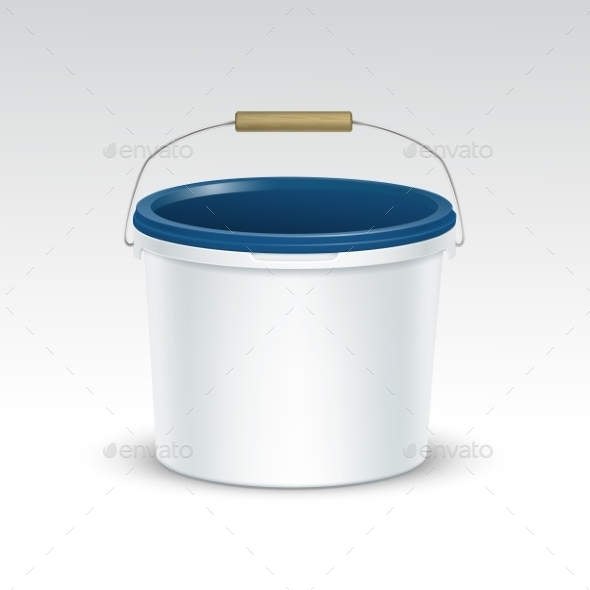 GraphicRiver Plastic Bucket Container Packaging 11820679