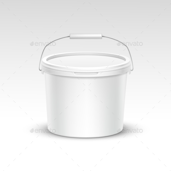 GraphicRiver Plastic Bucket Container Packaging 11820680