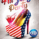 4th July Flyer Template 2015 Edition - GraphicRiver Item for Sale