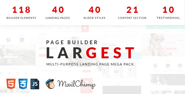 ThemeForest Largest Multipurpose Landing Page 11759135