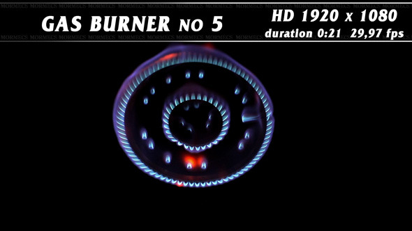 Gas Burner No.5