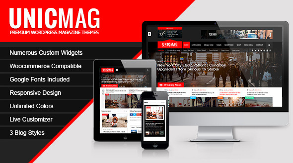 ThemeForest UnicMag WordPress Magazine Theme 11769852