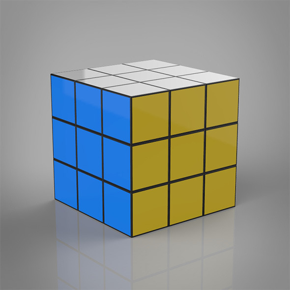 Toy Rubik Cube - 3DOcean Item for Sale