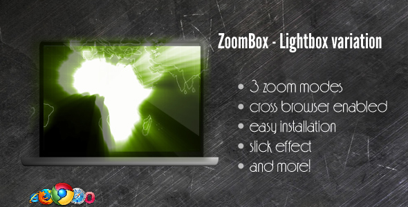 CodeCanyon ZoomBox Lightbox Variation jQuery powered 143771
