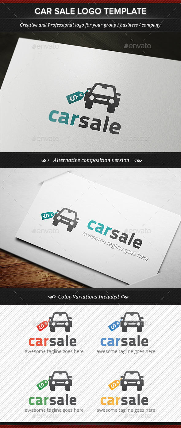 GraphicRiver Car Sale Seller Dealer Logo Template 11823521