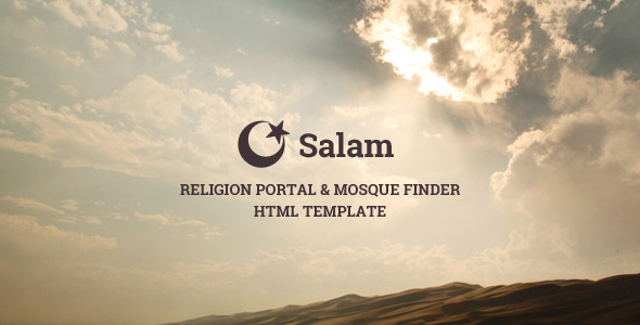 Salam - Religion Portal & Mosque Finder