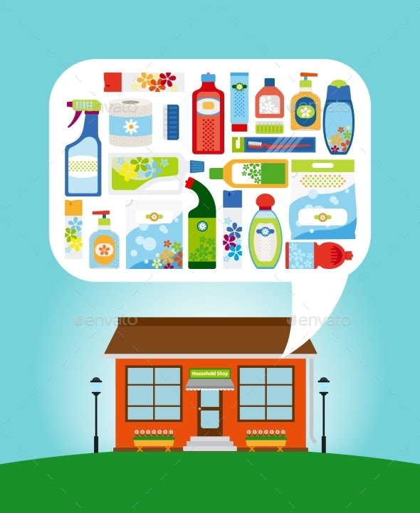 GraphicRiver Shop With Household Chemicals 11824397