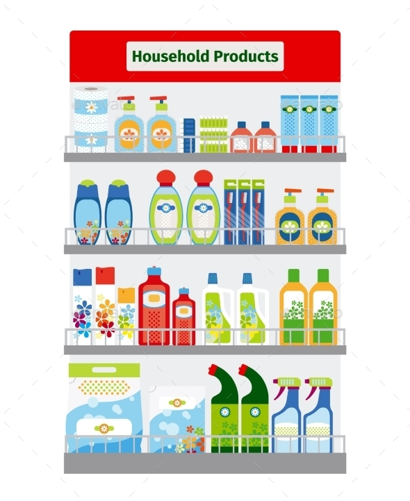 GraphicRiver Showcase With Hygiene Items 11824427