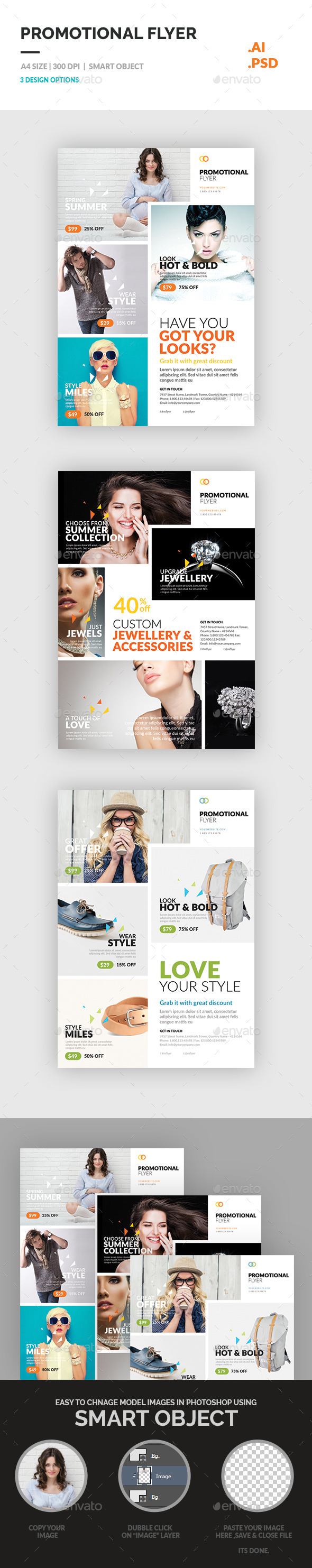 GraphicRiver Promotional Flyer 11803268