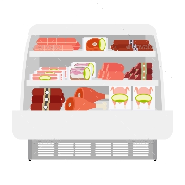 GraphicRiver Meat Products In Store 11824428