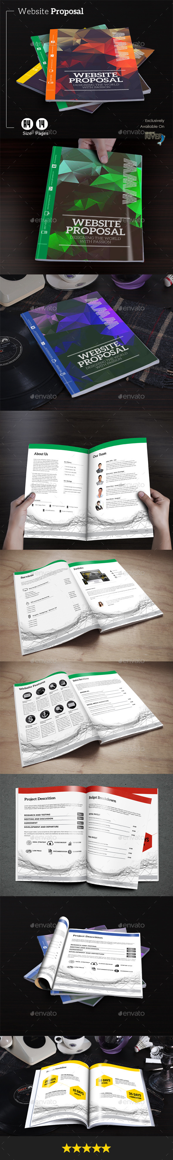 GraphicRiver Website Proposal 11824489