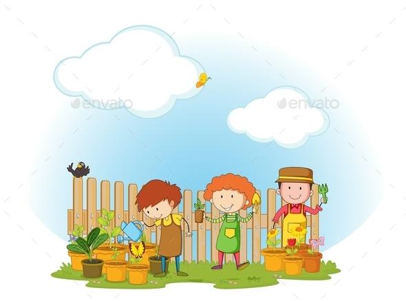 GraphicRiver Gardening 11824529