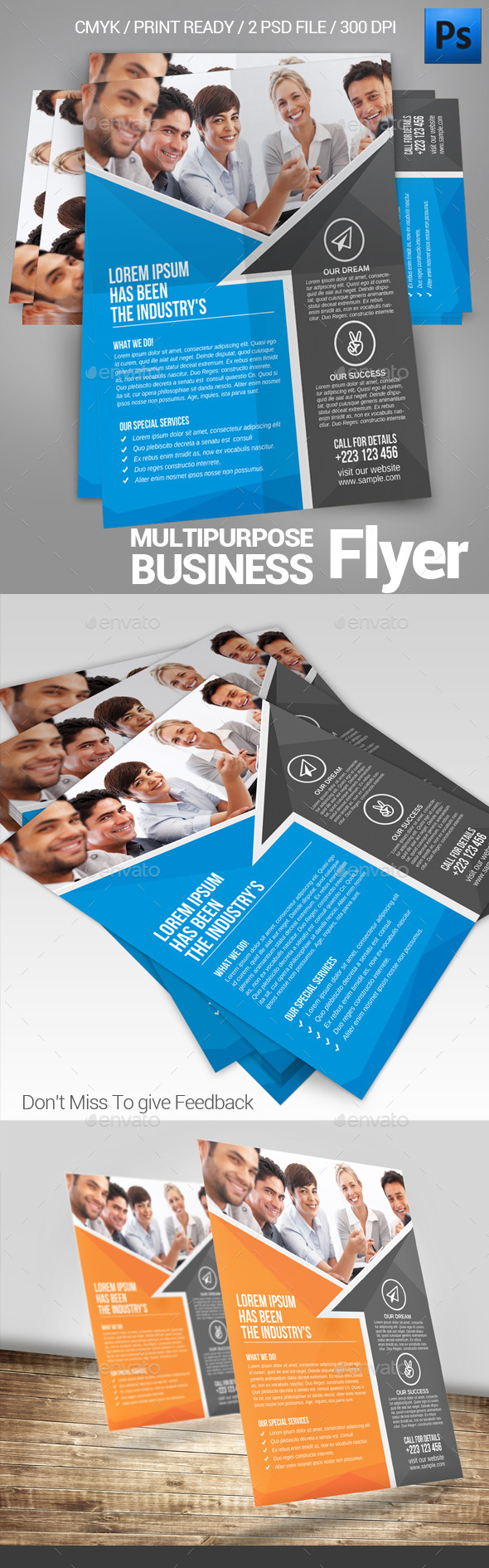 GraphicRiver Business Flyer Template 11816068