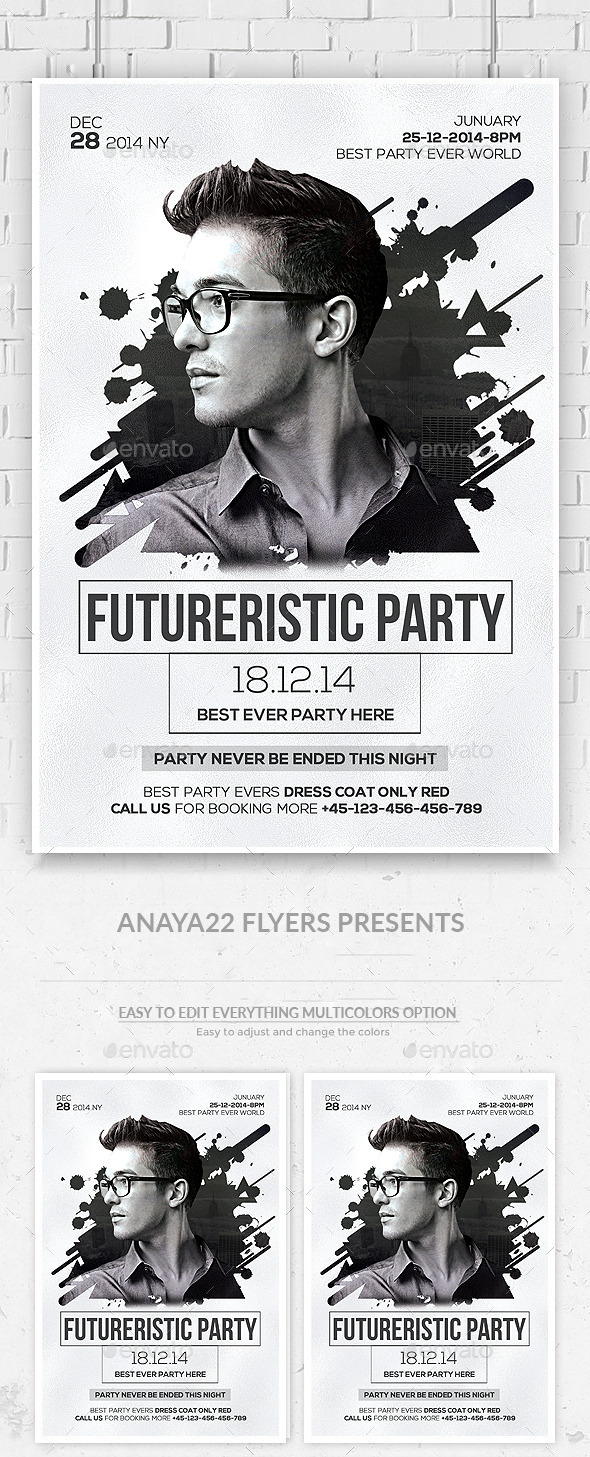 GraphicRiver Electro Concert Dj Flyer 11825299