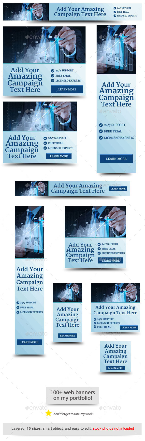 GraphicRiver Corporate Web Banner Design Template 64 11826390