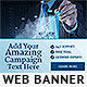Corporate Web Banner Design Template 64 - GraphicRiver Item for Sale