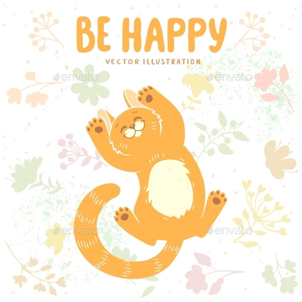 GraphicRiver Happy Kitten 11826512