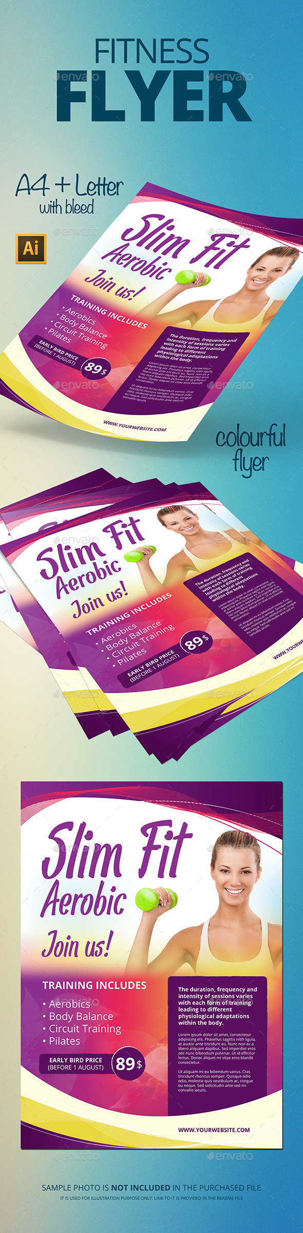 GraphicRiver Aerobic Flyer 11818236