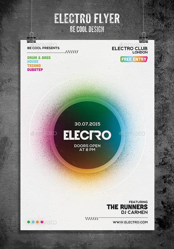 GraphicRiver Electro Flyer Poster 11815332