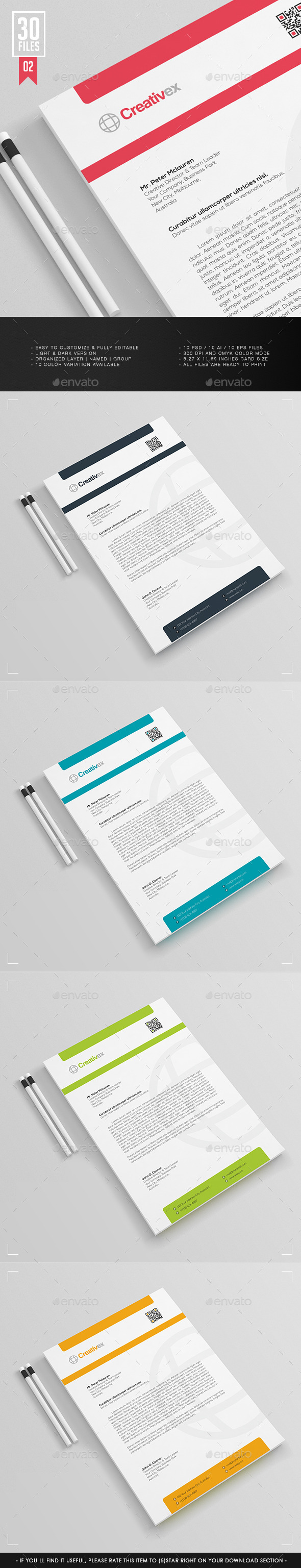 GraphicRiver A4 30 Files Business Letterhead V.001 11826673