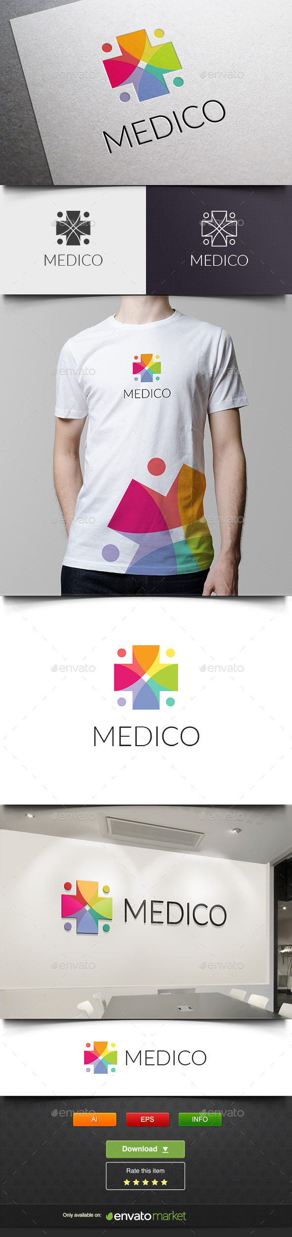 GraphicRiver Medico 11826790