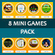 MINI Games pack x 8 - ActiveDen Item for Sale