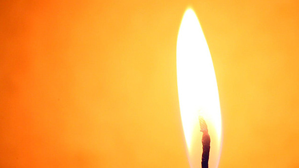 Candle Light With Flame 574
